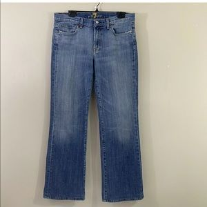 """7 For All Mankind Mens Relaxed Blue Jeans W-33"""""""